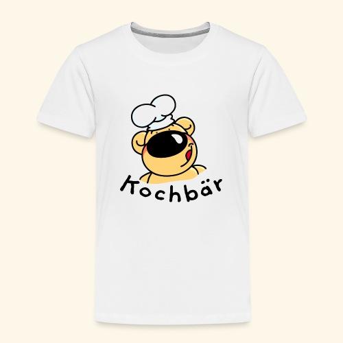 Kochbär mit Kochmütze - Kinder Premium T-Shirt