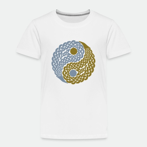 Yin und Yang Keltische Knoten Geschenk Yoga Zen - Kids' Premium T-Shirt