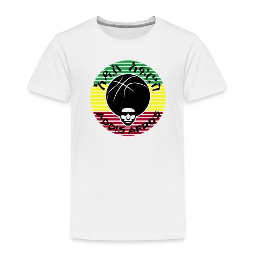addis afros stripes rast - Kinder Premium T-Shirt