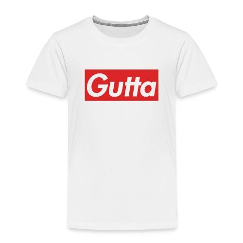 Gutta hvit-rød - Premium T-skjorte for barn