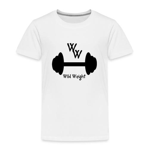 wild weight logo (R) - Camiseta premium niño