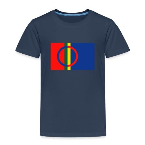 Samiska flaggan - Premium-T-shirt barn
