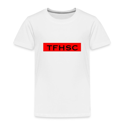 The Red TFHSC Logo - Kids' Premium T-Shirt