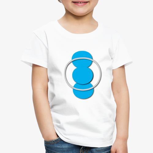 Circle - Maglietta Premium per bambini