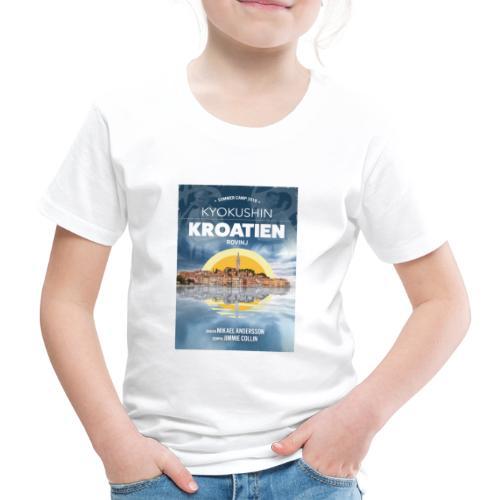 Kyokushin Karate Rovinj 2019 - Premium-T-shirt barn