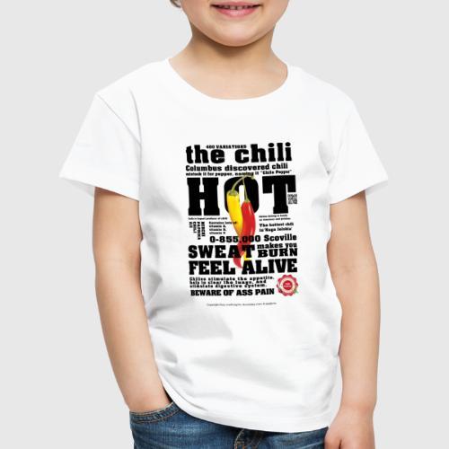 chili - Børne premium T-shirt