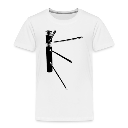 Weapon Dummy Black - Kinder Premium T-Shirt