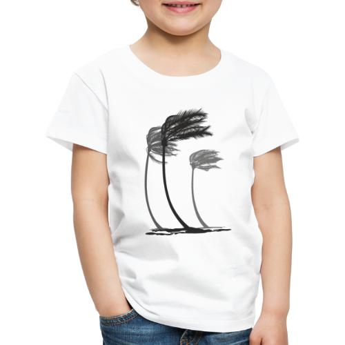Palms in the wind - Kinder Premium T-Shirt