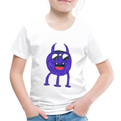 Monster - Premium-T-shirt barn