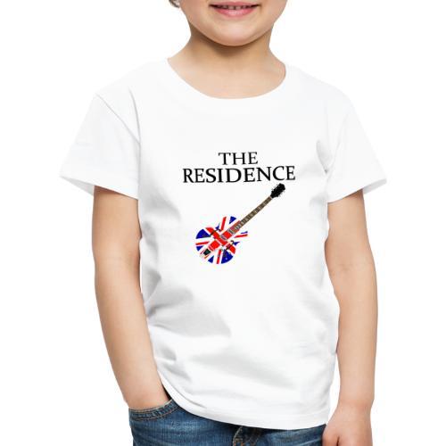 THE RESIDENCE BRITROCK GUITAR BLACK - Kinder Premium T-Shirt
