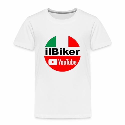 ilBiker - Logo tondo - Maglietta Premium per bambini