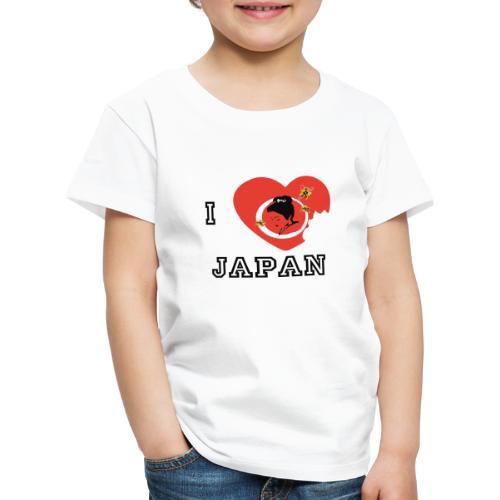 i love japan - T-shirt Premium Enfant