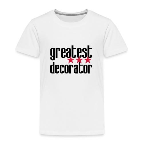 Décorateur / Décoratrice / Designer / Architecte / - T-shirt Premium Enfant