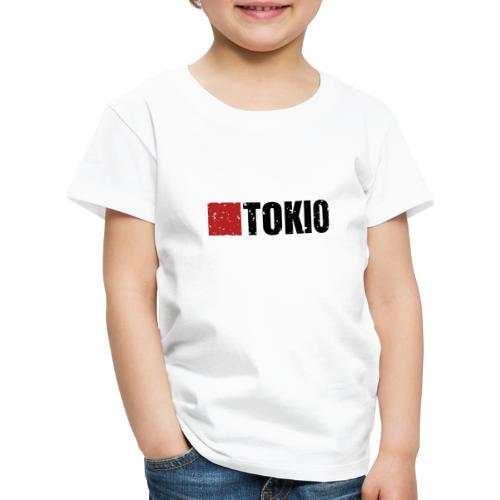 00160 Casa Papel Tokio negro - Camiseta premium niño