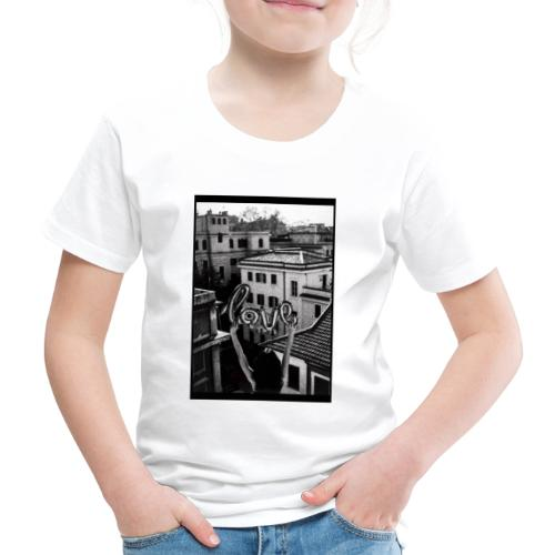 LOLA X iorestoacasaArtistiUniti - Maglietta Premium per bambini