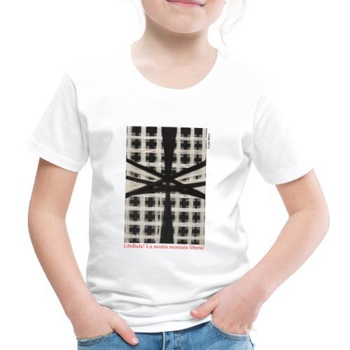 CARLA MURA X iorestoacasaArtistiUniti - Maglietta Premium per bambini