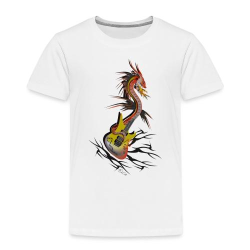 Guitar Dragon - Kinder Premium T-Shirt
