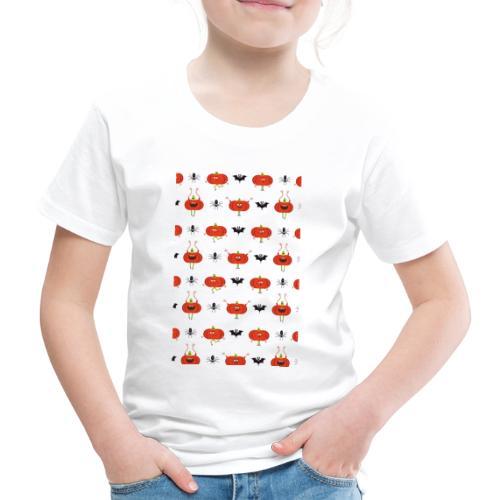 halloween pattern - T-shirt Premium Enfant