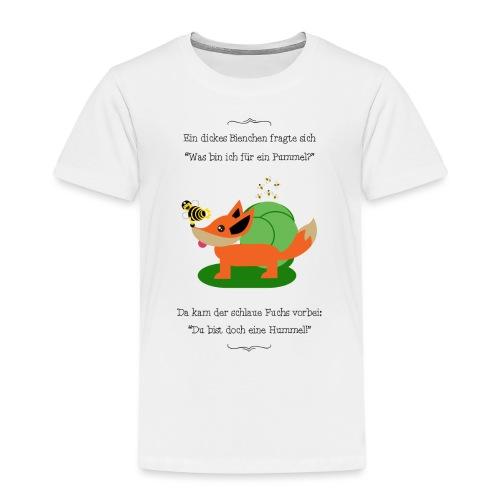 Pummelbiene - Kinder Premium T-Shirt