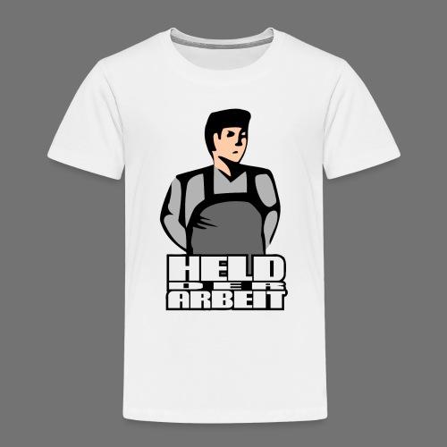 Held der Arbeit (Arbeiterheld) - Kinder Premium T-Shirt