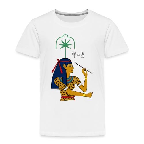 Seschat – altägyptische Göttin - Kinder Premium T-Shirt
