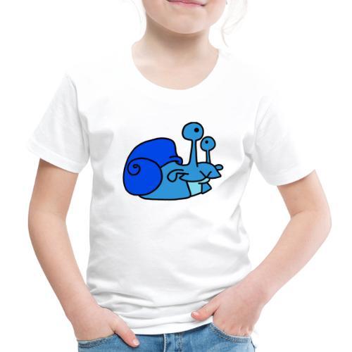 Schnecke Nr 79 von dodocomics - Kinder Premium T-Shirt