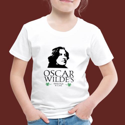 Logo Oscar Wilde IrishPub - Kinder Premium T-Shirt