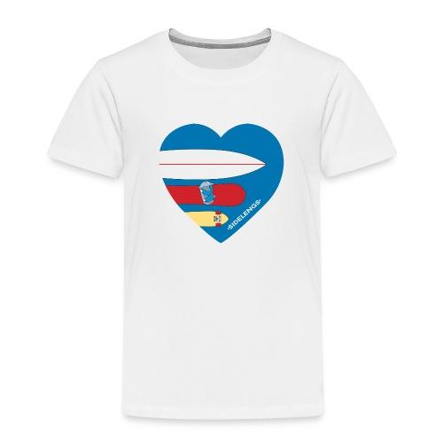 sidelengsbl - Premium T-skjorte for barn
