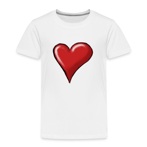 Love (coeur) - T-shirt Premium Enfant