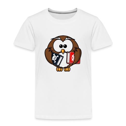 Lerning Owl - Kinder Premium T-Shirt