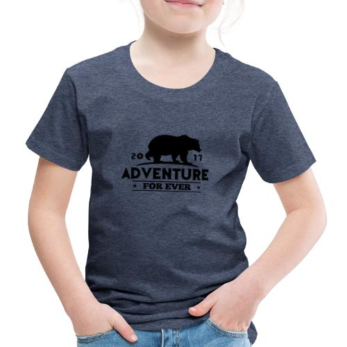 ADVENTURE FOR EVER - GRIZZLY - Maglietta Premium per bambini