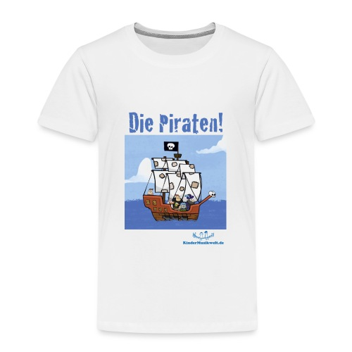 Piraten 1 Schiff - Kinder Premium T-Shirt