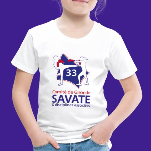 Comité Savate 33 - T-shirt Premium Enfant