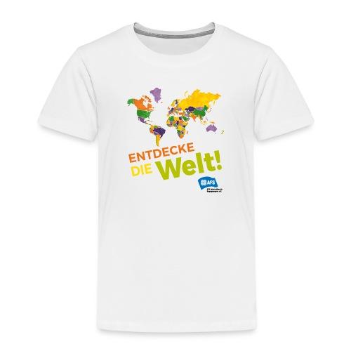 Entdecke die Vielfalt der Welt mit AFS - Kinder Premium T-Shirt