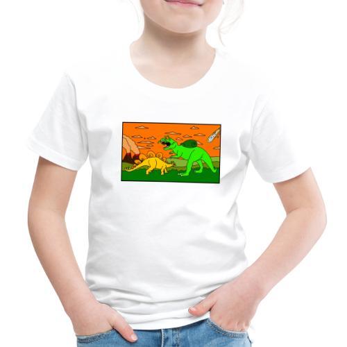 Schneckosaurier von dodocomics - Kinder Premium T-Shirt
