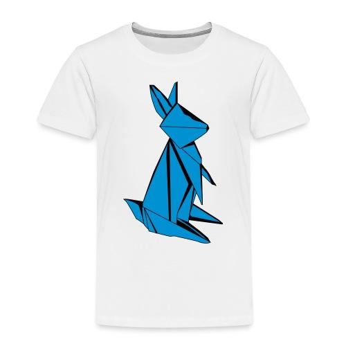 Origami Bunny - Kids' Premium T-Shirt