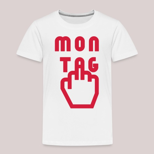 26-30 Lazy Montag - Kinder Premium T-Shirt