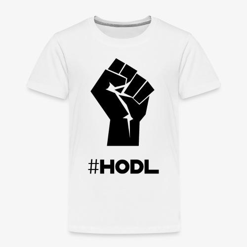 HODL-fist-b - Kids' Premium T-Shirt