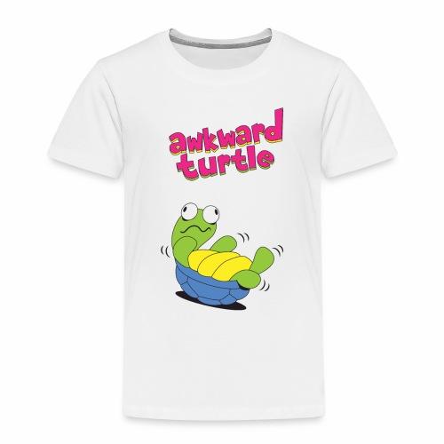 Akward Turtle (FFF) - Kids' Premium T-Shirt