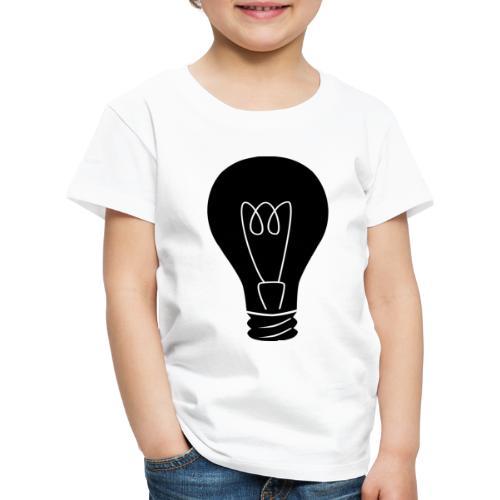 Glühbirne - Kinder Premium T-Shirt