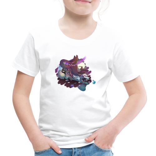 Halloween Ghost Dragon - Premium-T-shirt barn