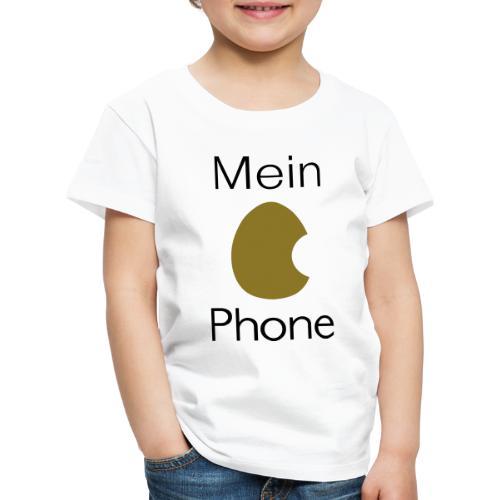 iPhone - Ei Phone - Kinder Premium T-Shirt