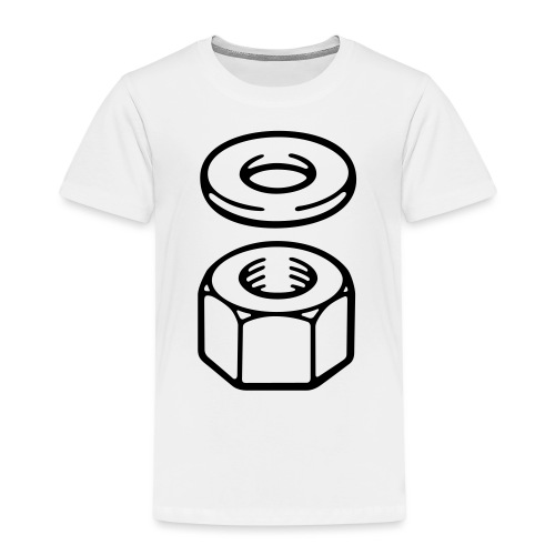 Nut and washer - Kids' Premium T-Shirt
