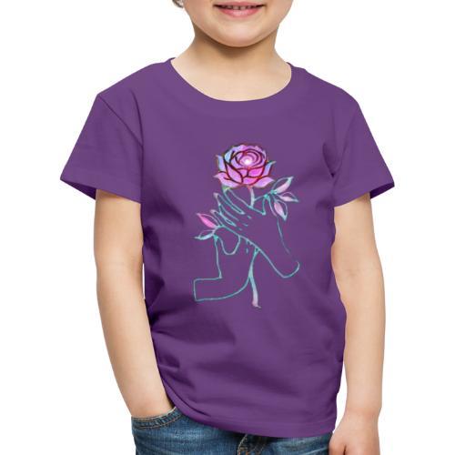 Fiore - Maglietta Premium per bambini