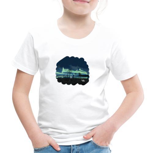 Reflet des aurores boréales - T-shirt Premium Enfant