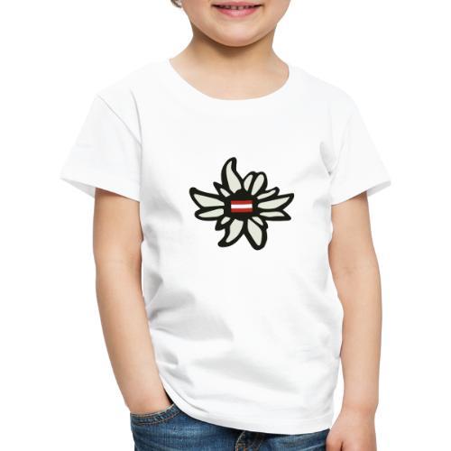 Edelweiss Austria - Kinder Premium T-Shirt