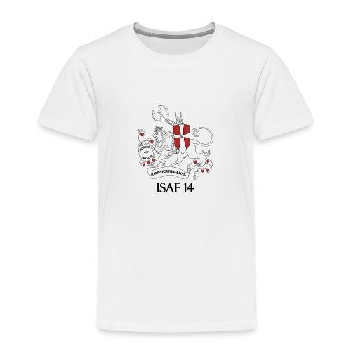 Sandfarvet Tshirt Mænd - Børne premium T-shirt