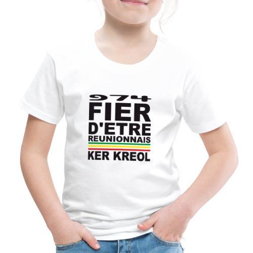 974 ker kreol fier et culture - T-shirt Premium Enfant