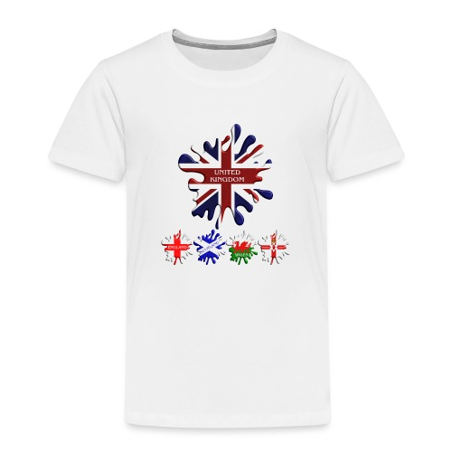 United Kingdom Flags - Kids' Premium T-Shirt