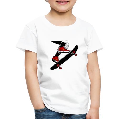 Skating - Maglietta Premium per bambini